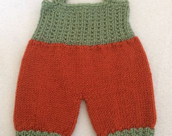 """ON SALE - 10% OFF Crochet  romper  for 16 and 18"""" dolls... Waldorf dolls....."""