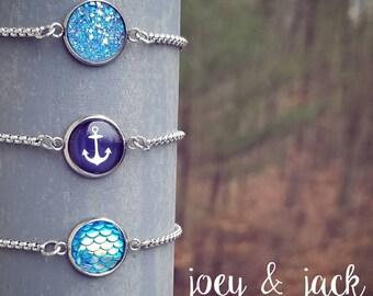 Stainless steel slider bracelets!