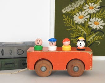 Creative Things Truck and Fisher Price Little People- Kid Room Decor