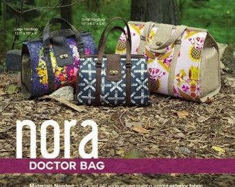 Swoon Sewing Patterns - Nora Doctor Bag Pattern