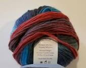 Knit picks Chroma Wool yarn, SUPER HERO, worsted weight, washable wool