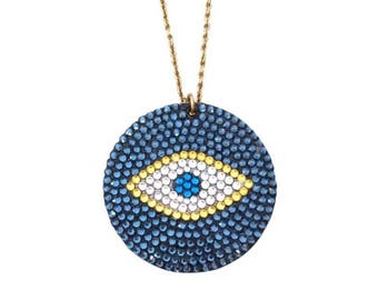 Evil Eye Turkish pendant
