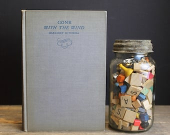 1936 Gone With The Wind // October 1936 Edition // 16th Printing First Edition // Fiction Classic