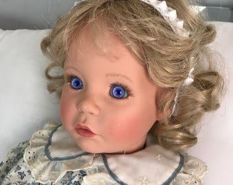 "Gorgeous Susan Wakeen 1994, 20"" Doll, numbered 371/750 (vinyl head, limbs,stuffed body)"