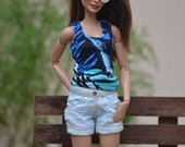 Coron Tank tops, Mini- and Maxi Dresses for Fashion Royalty and Barbie Made to Move (Regular) Dolls (Batch 1)