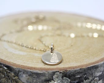 Tiny Tree Necklace // Gold Filled