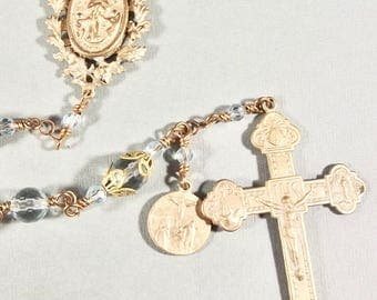 Bright Bronze Our Lady's Rosary