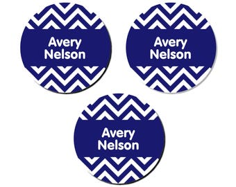 Iron-On Labels (2 Sizes), Chevron
