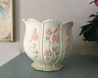Vintage Lenox Planter,Floral,Shabby Chic Decor