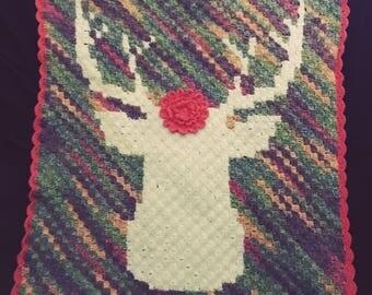 My deer baby blanket