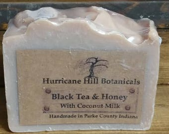 Black Tea and Honey Coconut Milk Soap