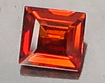 0.63 Ct Natural Garnet Spessartine Mandarin Orange