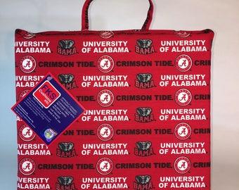 University of Alabama Seat Cushion-Alabama Crimson Tide Stadium Seat-Bleacher Cushion-Stadium Cushion