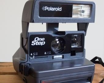 Polaroid One Step, Polaroid, Instant Film Camera, Polaroid, Film, Vintage, Camera, 1990's, Instant Film, Film, Film Camera, Photography,