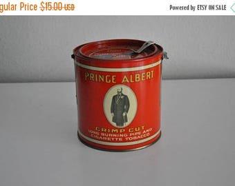 ON SALE Vintage Prince Albert Tobacco Tin