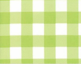 Buffalo Check Lime 8656 41 by Moda