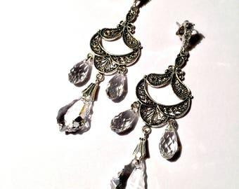 Clarity Chandelier Earrings