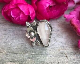 Beloved Ring Rose Quartz