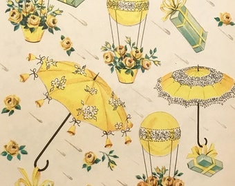 Vintage Wedding Wrapping Paper Gift Wrap