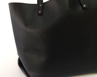 Tote bag 'Folded' Black