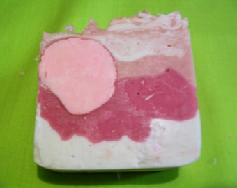 Handmade Soap, Rose Petal fragrance