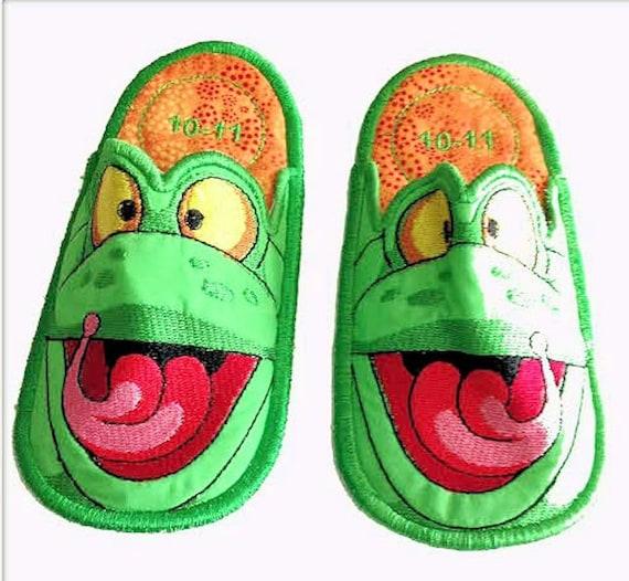 Frog Bedroom Slippers Kids Slippers Bedroom Slippers
