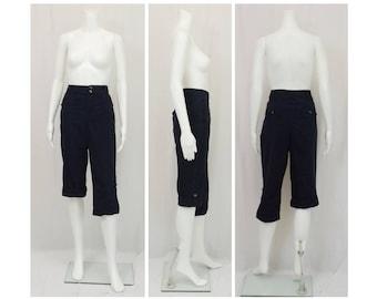CHRISTOPHER and BANKS Navy Blue Capri Pants US Size 12