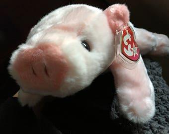 Beanie Buddies pig, Squealer.