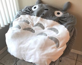 Totoro Beanbag Pillow Case For Round Lounge Chair