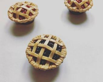 Blueberry Pie Magnet