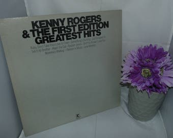 Vintage Vinyl Record LP 33RPM  Kenny Rogers & The First Edition Greatest hits Reprise RS 6437