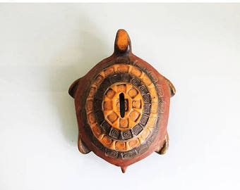 ON SALE Mid Century Aldo Londi Bitossi Turtle Bank