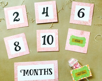 Baby photo props girl. Baby photography prop girl. Baby month stickers girl. Baby monthly milestones girl. Baby month blocks girl.