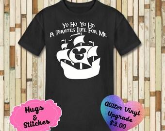A Pirates Life For Me Disney Shirt