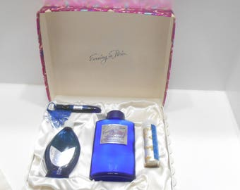 Vintage Evening In Paris Perfume & Cologne Gift Set (19-F) Bourjois