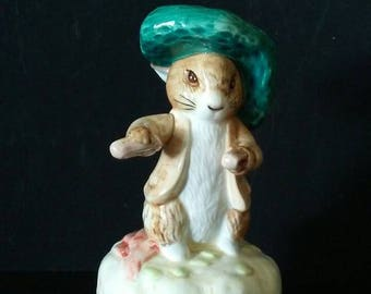Beatrix Potter Benjamin Bunny Music Box by Schmid