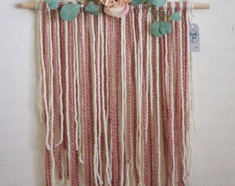 Painted Sky - Decorative Yarn Wall Hanging