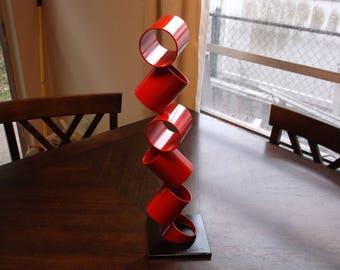 Contemporary Metal Sculpture Modern Abstract Art