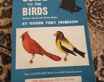 1947 vintage book  Field Guide to the Birds