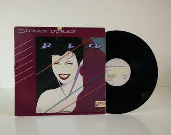 Duran Duran - Rio / Vintage vinyl album / 1982