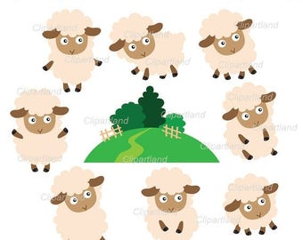 ON SALE INSTANT Download. Sheep 6. Personal and commercial use.