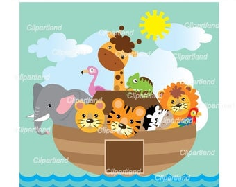 ON SALE INSTANT Download. Noah's Ark . Personal and commercial use.