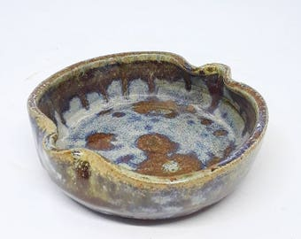 Rutiele Blue Splatter Ashtray