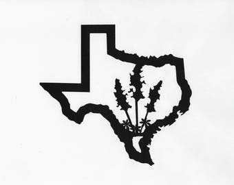 Texas, Texas Bluebonnets, Texas Bluebonnet Art, Metal Sign, Texas Metal Sign, Texas Art, Metal Decor, Texas Decor, Texas Metal, Texas Patio