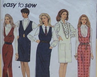 Simplicity 8546 jumper sewing pattern 6 8 10 UNCUT
