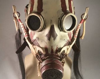 Skullbuster Gas Mask, Warlord pattern.