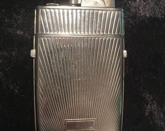 Vintage Evans cigarette case and lighter
