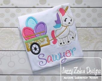 Unicorn Easter Shirt - Easter shirt - Custom monogram - Infants to Adults