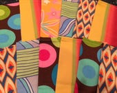 Reserved Listing for Julia - 50 Lunchbox Napkins, Retro POP of Color, by CHOW with ME