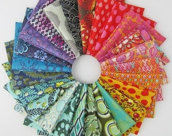 Tula Pink Rainbow Fat Quarter Bundle - 25 Fat Quarters - 6.25 Yards Total